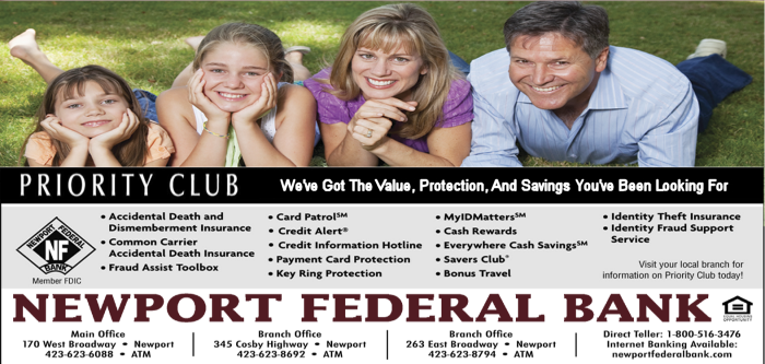 Newport Federal Bank's Priority Club